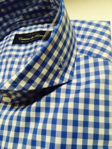 ギンガムチェック オーダーシャツ2